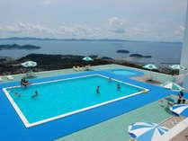 ◆壮観絶景!スカイプール◆「夏季限定」子供から大人まで楽しめる眺望最高のプール(利用無料)