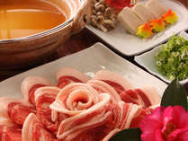 ◆ぼたん鍋(一例)◆美と健康に良いとされている栄養価&コラーゲンたっぷりのぼたん鍋
