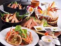 姉妹宿で経験を積んだ和食料理人が作るカニ料理は、味はもちろん見た目も絶品!
