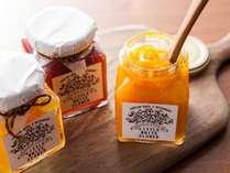 季節のフルーツを使った手作りジャムは、朝食でお愉しみいただけます