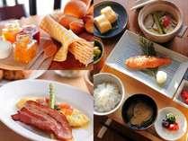 朝食は和食と洋食から選んでいただけます