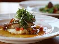 【春の魚料理】地魚のポワレ