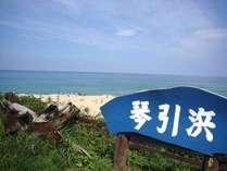 【じゃらん限定】海の見える部屋☆源泉かけ流し鳴き砂温泉と子供喜ぶ特典付き海水浴を楽しもうプラン
