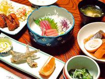 *【夕食一例】旬の食材を使った家庭的な料理
