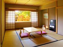 【本館・五色の森】和室/12畳/大人数でもご利用いただけるお部屋です