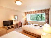 【本館・五色の森】スタンダードツイン/36平米/シンプルで居心地の良いツインルームです。