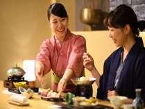 季節の会津食材を使った和会席で福島の味を堪能!
