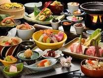 高級食材と会津食材を贅沢に楽しめる和会席/最高級和会席コース