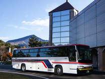 東京駅往復送迎バス付きプランで楽々到着♪
