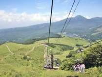 *車山リフト営業/早朝のサンライズ雲海リフトも営業中です。