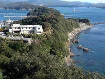 五ヶ所湾をのぞむ高台にあり、海への眺望が非常に奇麗♪海を眺めてゆっくりしたい方にお薦めです☆