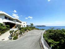 五ヶ所湾をのぞむ高台にあり、海への眺望が非常に奇麗♪海を眺めてゆっくりしたい方にお薦めです。