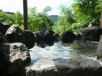 卓球場付きコテージ「山法師」の専用露天風呂