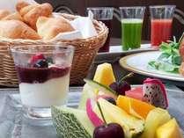 朝食(一例)内容は季節や仕入れによって変更致します。