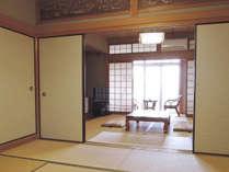 *【和室14畳一例】グループでもゆったりご利用いただける2間続きのお部屋