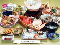 さかわコース(一例)素材と味覚にこだわった旬の季節感あふれるお料理です