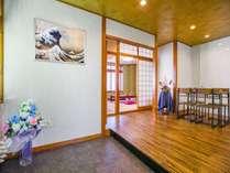 伝統的な日本スタイルの内装をお楽しみください。