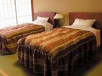 人気の和風ベッドルームは、一室ごとに趣が異なります。