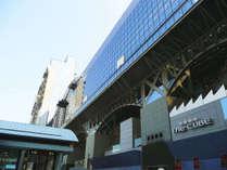 当館から京都駅まで【徒歩1分】新幹線・JR・近鉄電車・地下鉄など、どの移動手段を利用するのにも便利♪