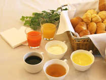 美味しさとバランスを考えた「こだわりの朝食」メニュー!
