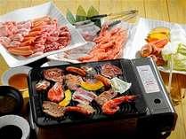 【バイキングもパワーアップ!】国産焼肉&海鮮バーベキューも食べ放題!!思う存分召し上がって下さい!