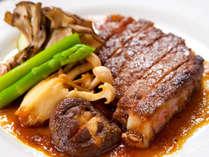 ジューシーな味わい・豊後牛ステーキ