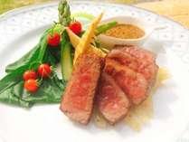 ブランド牛「福島牛」のサーロインステーキ