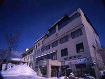 *【外観】インフォメーションセンター「ファーロ」はウィンタースポーツの活動拠点としてご利用下さい。
