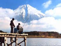 絶景冬の富士!1泊2食付でお手軽旅行◎冬場はとってもお得、通常より更に値下げ!冬のコテージ得々プラン