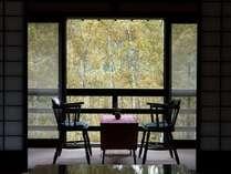 【本館/特別室和室】本館の中にある古民家を移築再生した重厚なお造りのお部屋です。