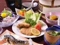 *お夕食一例/岐阜の地産美味にこだわった宿自慢の会席料理をごゆっくりご堪能下さい。