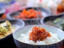"""◆朝食◆""""ふっくら""""炊き立てごはんに、手づくりおかず♪何杯でもご飯がすすみます"""