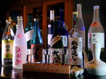 ◆夕食◆良質な水と米からつくられる球磨の米焼酎。地の食で地の酒を味わう至福のひとときを――