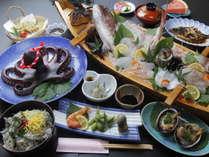 鮮度抜群の生しらすと篠島海の幸を味わえるオススメコース料理です。