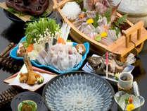篠島の冬味覚!ふぐ定番料理コースを堪能♪