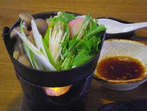 *夕食一例/この地方の郷土料理「戸狩鍋」で体がぐっと温まります♪