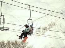 【リフト券付】<戸狩温泉スキー場 リフト1日券付>天然雪100% 2.5キロのロングコースが楽しめる 1泊2食付