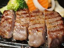 焼物の一例(飛騨牛ランプステーキ)