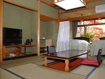 純正シーリーのセミダブルがある掘りごたつつきの和室(一例)