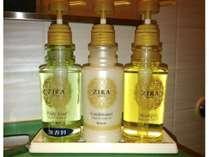 シャンプー・コンディショナー・全室無香料ボディーソープ。最先端のスパで施されるオイル美容