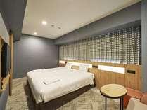 デラックスツインルーム■23.9平米■ベッド幅110cm×2台 サータ社製ベット完備♪ Wi-Fi接続無料♪