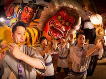 【みちのく祭りや】笛の旋律、軽快な手振り鐘、太鼓の音が交わる祭囃子