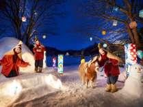 【雪ん子×ねぶた灯篭まつり】冬の青森を満喫するための、催し盛りだくさんのお祭り