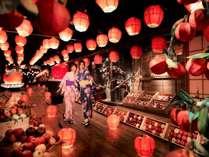 【じゃわめぐりんご×ほたて祭】りんご灯篭が彩る、実りの秋のお祭りを開催(2018年9月1日~11月27日)