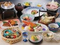 お料理の一例 「伊勢海老と夏の旬会席膳」