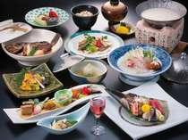季節の会席料理【春の彩海】