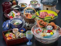地元の味☆みかわ牛食べくらべとプリプリのアカザエビを愉しむ~七福神会席特選コース