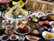 【百彩百味】自家菜園の野菜がたっぷり♪見て楽しい食べて美味しい多皿のおもてなし膳(秋冬)