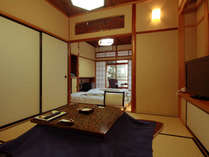 ◆天然温泉がお部屋で楽しめる♪温泉付準特室の【はなれ】