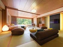 本館和室15帖+ベッド2台 景観と寛ぎの新感覚和洋室【禁煙】イメージ画像